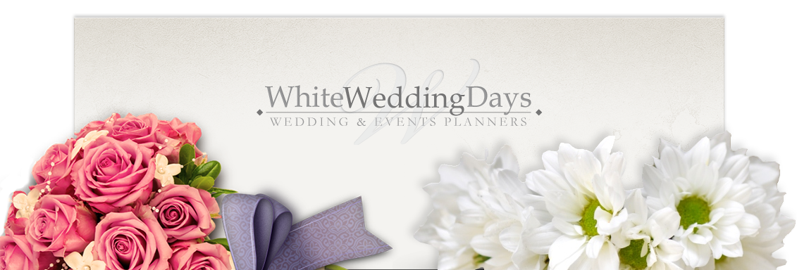 invite white wedding days