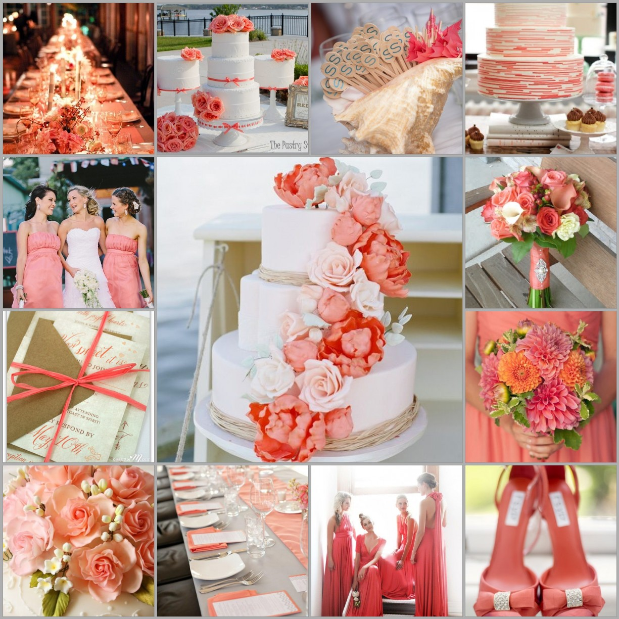 Beach Color Schemes For Weddings