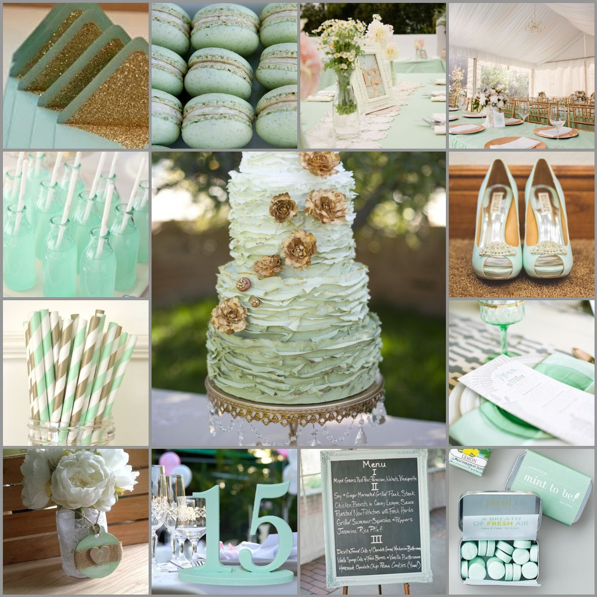 Mint Green Wedding Theme Weddings In Marbella Spain